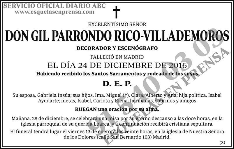 Gil Parrondo Rico-Villademoros
